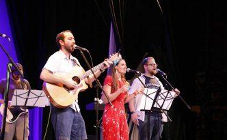 Josh Warshawsky, Deborah and Milk performing together